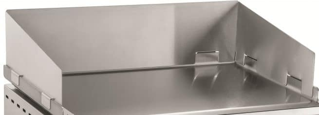 protection plancha inox