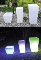 Wilsa Garden – Pot de Fleur Lumineux 38/40 cm
