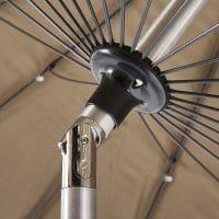 Wilsa Garden – Parasol rond Tonkin 250 cm