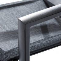 Wilsa Garden – Ensemble Ibiza T8+F10 Aluminium Noir