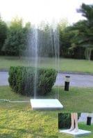 Wilsa Garden – Douche de jardin design rectangulaire