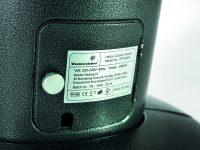 OutTrade Série Sunred – OTHAP12 Chauffage mobile avec détecteur de mouvement