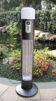 OutTrade Série Sunred – OTHDI12 Chauffage mobile avec détecteur de mouvement
