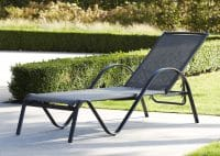 Wilsa Garden – Bain de soleil Sunset Gris Anthracite