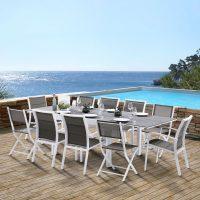 Wilsa Garden – Ensemble Modulo T6/10+F6+C4 Stone Blanc
