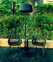 CHAUFFAGE INFRAROUGE MOBILE – G SUN PLAZA NOIR